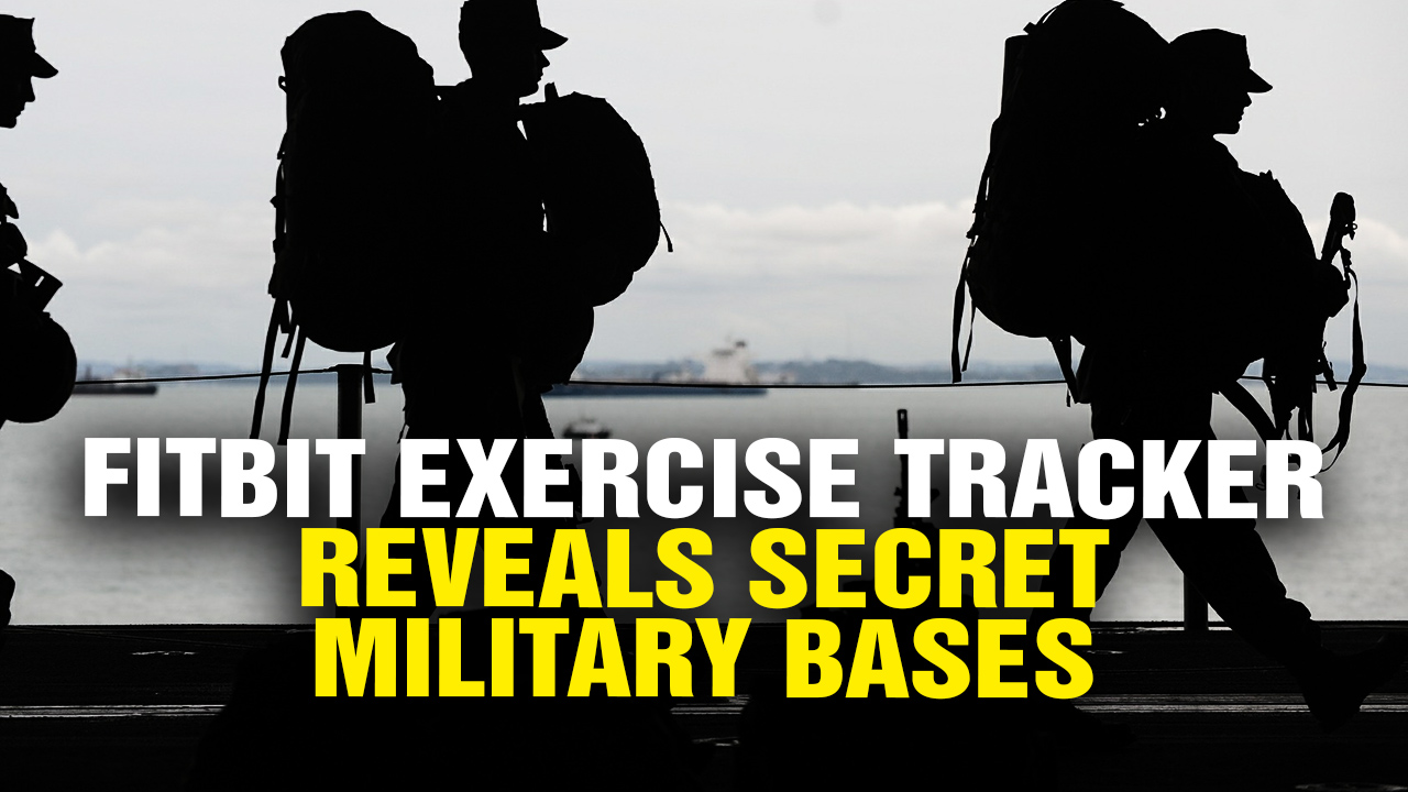 Image: FitBit Exercise Tracker Reveals SECRET Military Bases Around the World (Video)